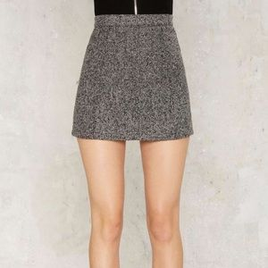 SALE❗️ANTHRO   SIX CRISP DAYS Wool Mini Skirt